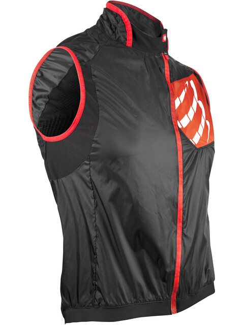 Compressport Cycling Hurricane Windprotect Vest Unisex Black